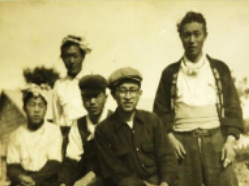 昭和20年 大工時代(義父・高松誠二)